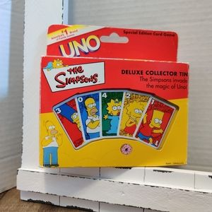 Simpsons uno cards